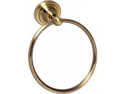 Bemeta Retro kruh na ručníky bronz 144104067