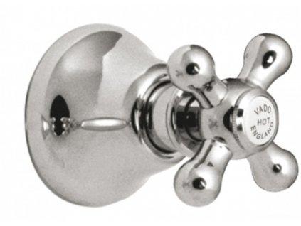 "VADO VICTORIANA podomítkový uzavírací ventil 3/4 "" chrom"