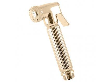 Rav sprchová růžice se stop ventilem zlato KS0005Z