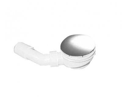 RETRO vaničkový sifon, průměr 90mm, chrom   (905601)
