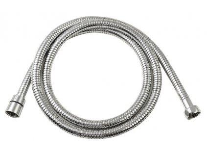 LUX opletená sprchová hadice, roztažitelná 150-180cm, chrom FSACC293