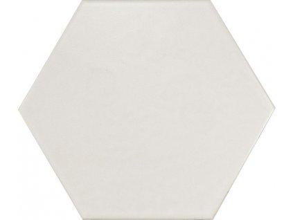 HEXATILE Blanco mate 17,5x20   (20339)