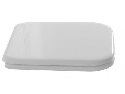 WALDORF WC sedátko Soft Close, polyester, bílá/bronz 418601