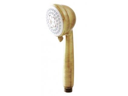 Rav sprchová růžice ruční mosaz PS0033SM