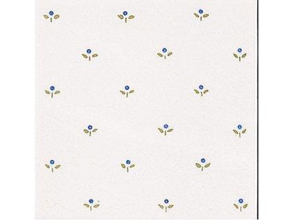 MODERNISTA Decorado Mimosa PB Azul C/C B 15x15 (1bal=1,48m2)