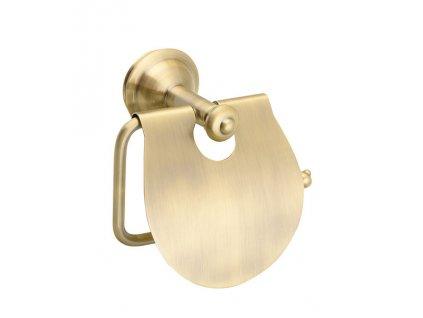ASTOR držák toaletního papíru s krytem, bronz 1326-17