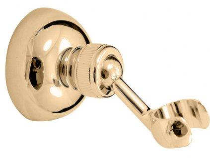 Rav držák sprchy otočný zlato MD0011Z