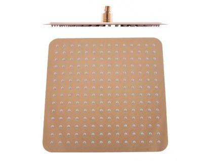 Rav hlavová sprcha hranatá kovová 30x30 cm KS0004 zlato KS0004Z