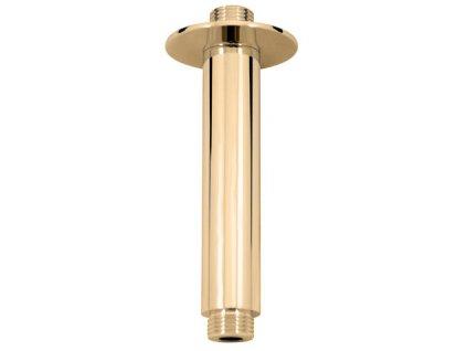 Rav stropní rameno pro hlavovou sprchu zlato MD0311Z