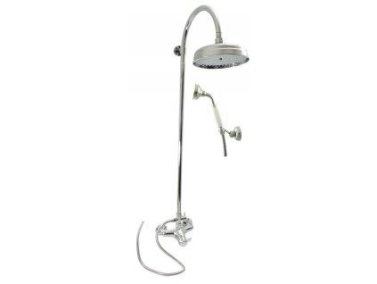 Rav Labe Chrom baterie sprchová 150mm s hlavovou a ruční sprchou L081.5/3