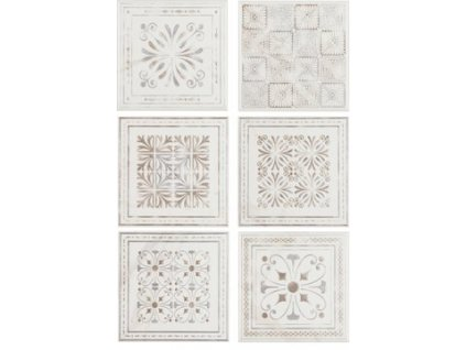 ETHERNAL Decor White 15x15 (1bal=1m2)