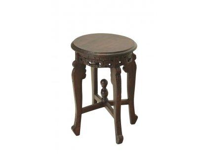 BALI stolička 30x45cm, tmavě hnědá IN217