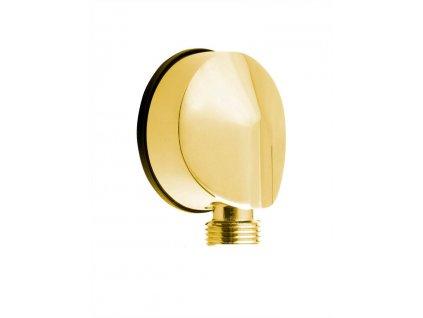 Vývod sprchy, průměr 50mm, zlato 9815