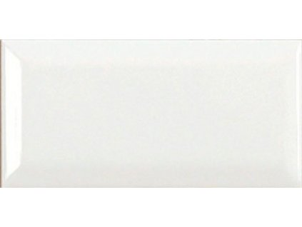 NERI Biselado PB Blanco Z 10x20 (bal.= 1,2m2) ADNE2039