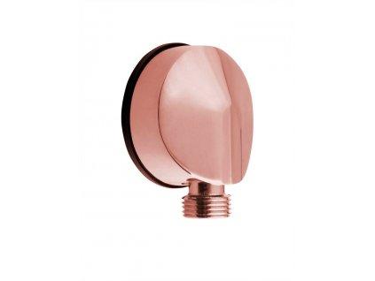 Vývod sprchy, průměr 50mm, růžové zlato 9817