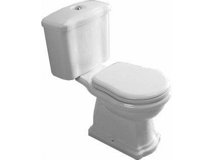 Kombi WC Retro,spodní odpad