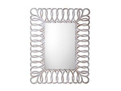 SEVILLA zrcadlo v rámu, 80x120cm, bílá IN236
