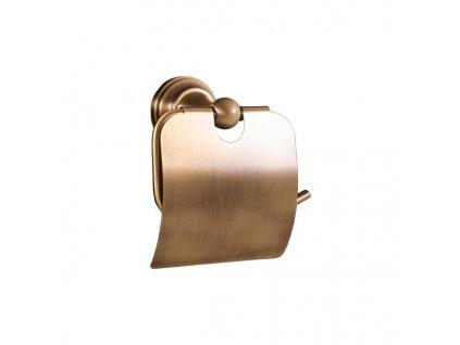 Slezák-Rav Morava mosaz držák toaletního papíru s krytem MKA0400SM