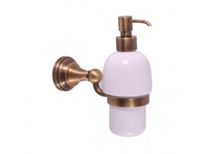 Slezák-Rav Morava mosaz dávkovač tekutého mýdla - keramika MKA0303SM