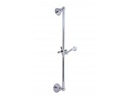 Rav Morava chrom sprchová tyč s posuvným držákem MD0553