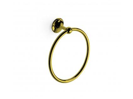 Lineabeta Venessia Gold kruh na ručník 52921.30