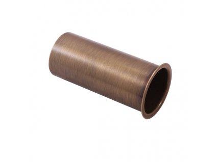 Prodlouzeni k umyvadlovemu sifonu horni cast stara mosaz MD0690SM
