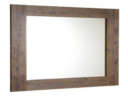 BRAND zrcadlo 1000x800x20mm, mořený smrk BA056