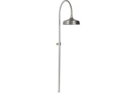 ANTEA sprchový sloup k napojení na baterii, hlavová sprcha, nikl SET018