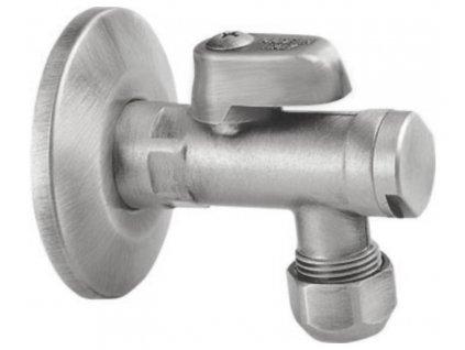 Rohový ventil s matkou, 1/2'x 3/8', nikl 2020NK