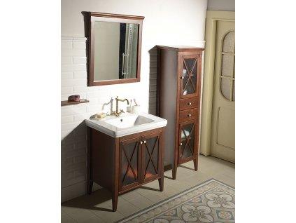 Koupelnový set CROSS 75, mahagon KSET-014