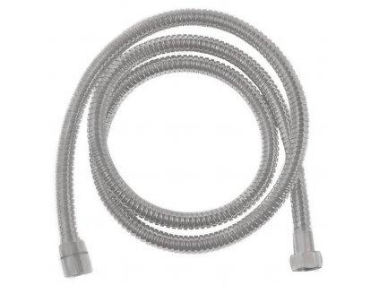 Kovová sprchová hadice, opletená, 175 cm, nikl FLE10NK
