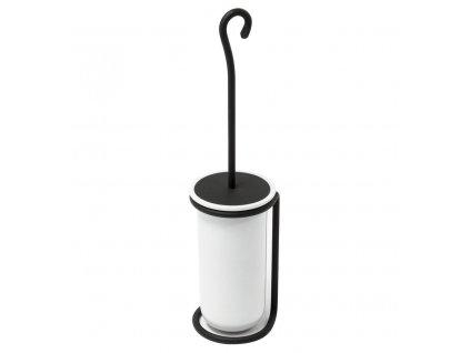 Sapho REBECCA WC štětka na postavení, černá/keramika CC010