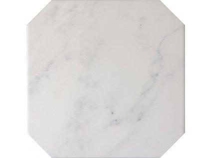 OCTAGON Mármol Blanco 20x20 (EQ-3) (1bal=1m2) 21010