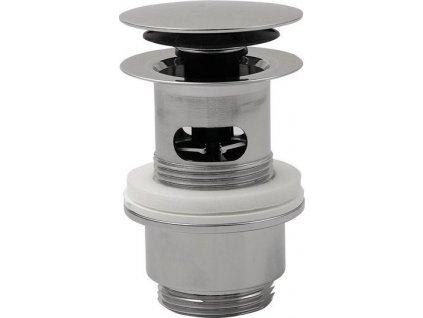 Uzavíratelná kulatá výpust pro umyvadla s přepadem Click Clack, V 32-52mm, chrom 8530.360.5