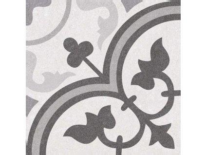 GALLERY Black & White 02 25x25 (bal=1,13m2) GLR006