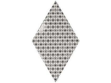 RHOMBUS WALL Pattern B&W 15,2x26,3 (EQ-20S) (1bal=1m2) 22760