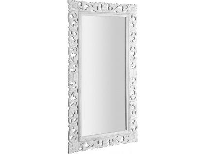 SCULE zrcadlo v rámu, 80x150cm, bílá IN328