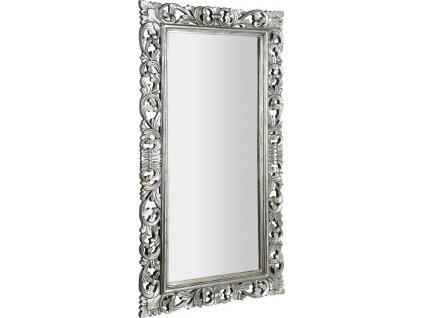 SCULE zrcadlo v rámu, 80x150cm, stříbrná IN334