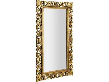 SCULE zrcadlo v rámu, 80x150cm, zlatá IN338