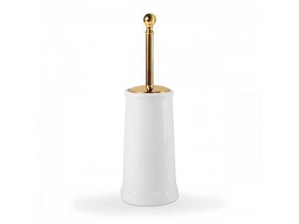 tres retro wc stetka keramicka zlato 02463604or