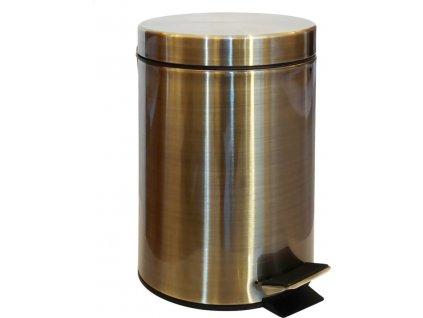 Odpadkový koš 3L, bronz XJ011
