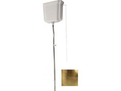 WALDORF-RETRO splachovací mechanismus s řetízkem, bronz 754593