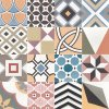 CAPRICE DECO Patchwork Colours 20X20 (EQ-5)   (22104)