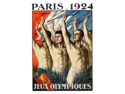 Plakát Olympic Games, Paris 1924, 30x40cm