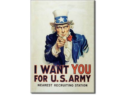 Magnetka Uncle Sam I Want You