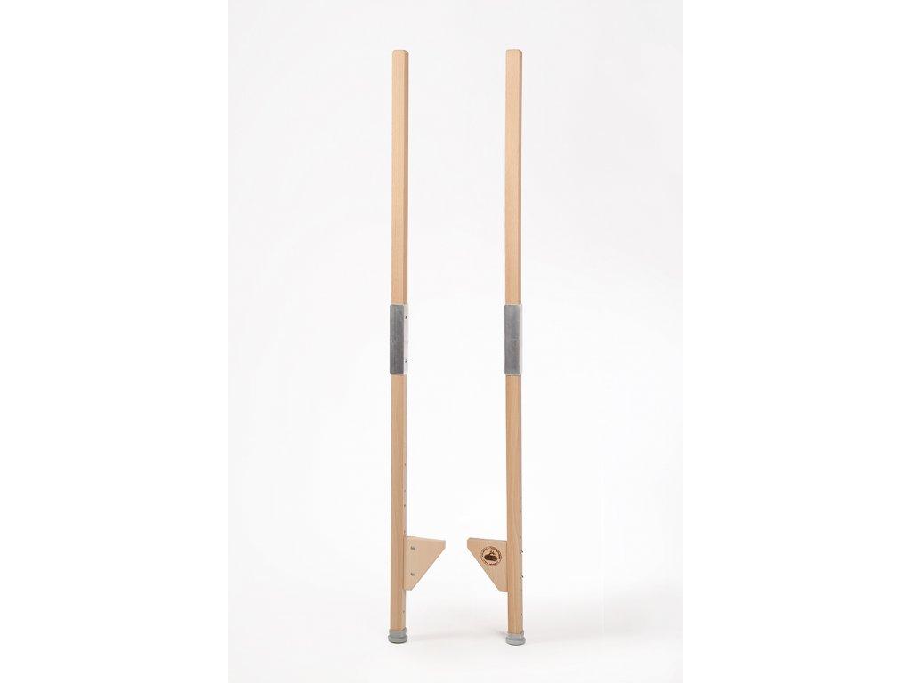 Dětské dřevěné chůdy