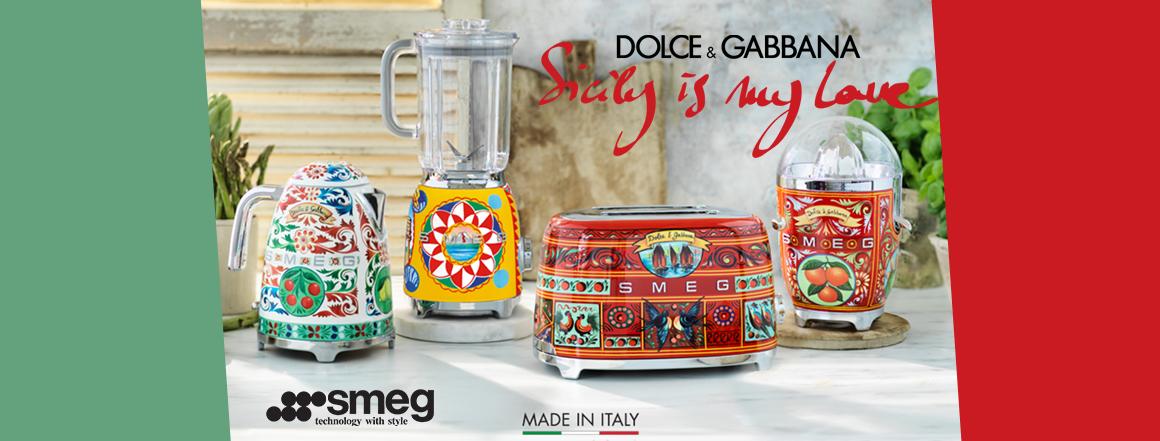 Smeg Dolce&Gabbana | Retrospot.cz