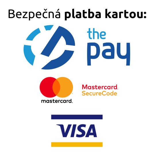 Bezpečná platba kartou | Platební terminál The Pay