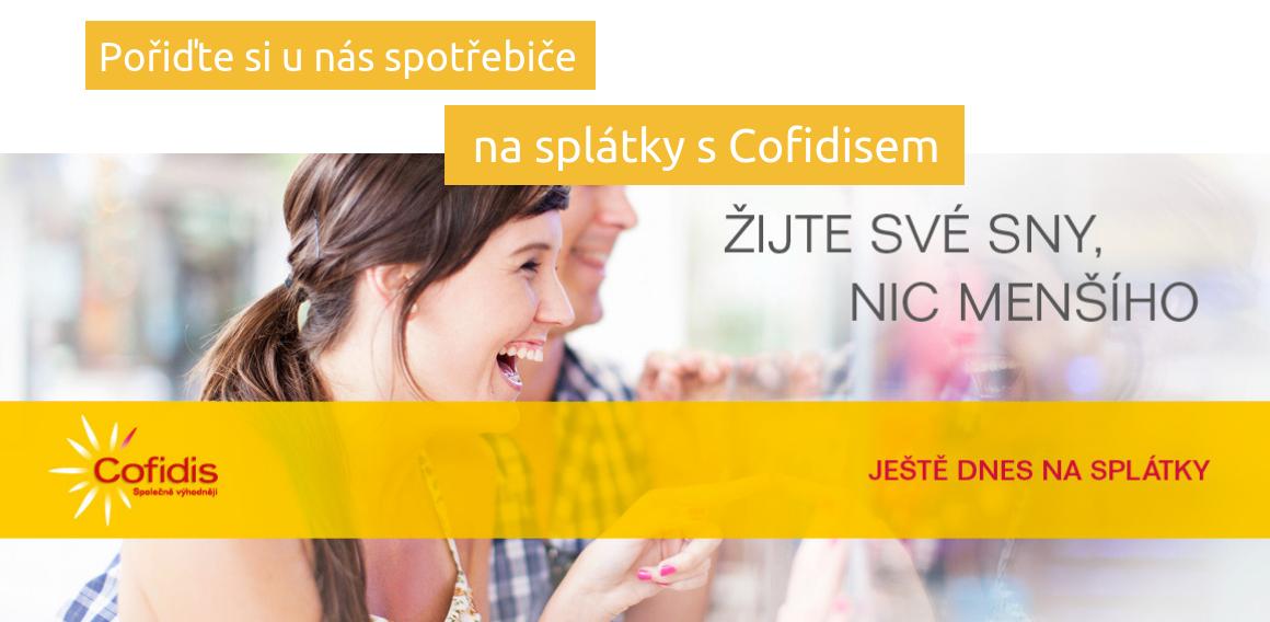 Nákup na splátky - Cofidis | Retrospot.cz