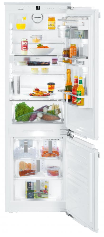 Vestavné kombinované ledničky
